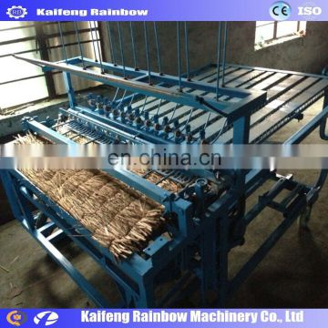 Shan heat preservation new design Straw Mattress Knitting Machine Straw Mat Making Machine bamboo curtain weaving machine