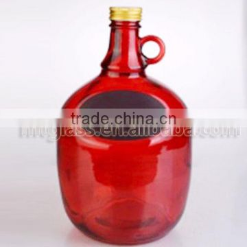 color printing glass pitcher beer used milk bottle Growler pitchers