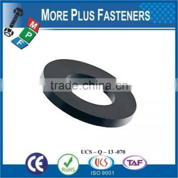 Made in Taiwan Black Nylon Reinforced Neoprene Rubber Nylon Finish Plastic Washer