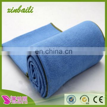 high quality pure color yoga microfiber towel for home sports