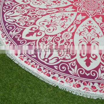 2017 Hot Sale round beach towel Mandala Roundies Throws gypsy bohemian hippie wall hanging round tapestries