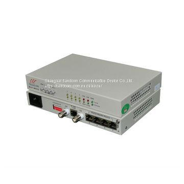 G.703 E1 to 8 channel RS232 converter