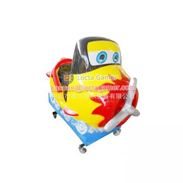 Zhongshan amusement kiddie rides coin operated Rocking car Flame