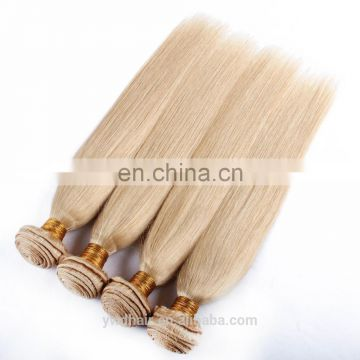 Honey Blonde Peruvian Virgin Hair Straight 8a 613 Platinum Hair Blond Remy Hair