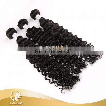 wholesale price peruvian virgin human haie bundles deep wave no shedding