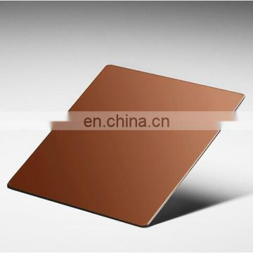 Antique Red Copper Stainless Steel Sheet With Anti-Finger Print