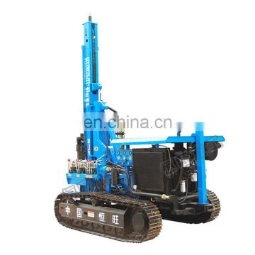 Multifunction crawler pile rig Photovoltaic pile drivers