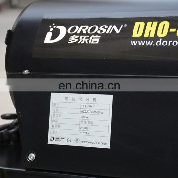 Dorosin 220V 15kw Industrial kerosine heater with Tip-Over Protection Function