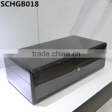 High gloss luxury wooden jewellery box