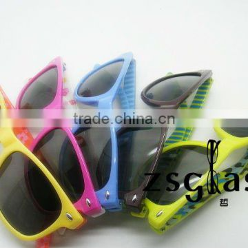 2012Cheap new design kid sunglasses/children sunglasses
