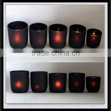 2017-2018 candle factory most favored colored glass candle holder