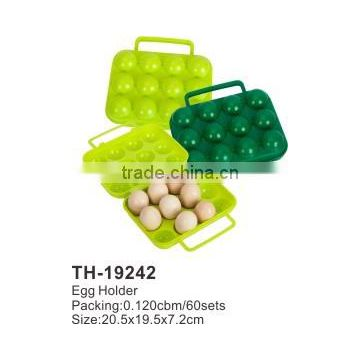 Hot Selling PP Plastic tools Egg Holder Egg Storage Box TH-19242