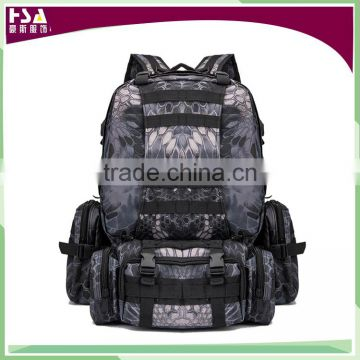 Manufacturers wholesale big size desert color multi-function military tactical backpack