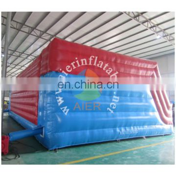 giant inflatable wipeout course, inflatable sport games, inflatable big baller game