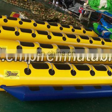 Best sale customized Inflatable Banana Boat with cheap price W1013