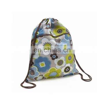 emoji customize drawstring sports bag for gym