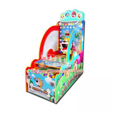 Zhongshan Locta redemption amusement park equipment, ball throwing game, Naughty Dog indoor amusement, coin operated
