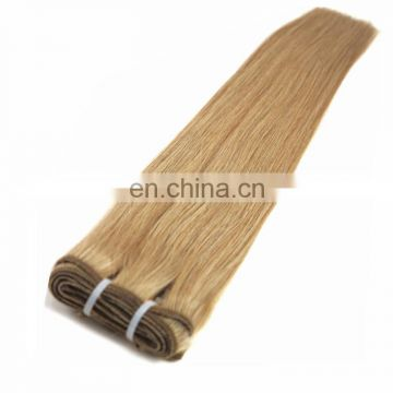 Factory wholesale no tangle no shedding mixed color human hair weaving remy