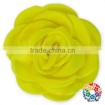 Turquoise Beautiful Handmade Rose Flower For Girls Hair Bands Flower Decoration