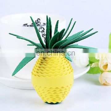 Women Creative Pineapple Keychain Car Key Ring Gift Purse Handbag Pendant