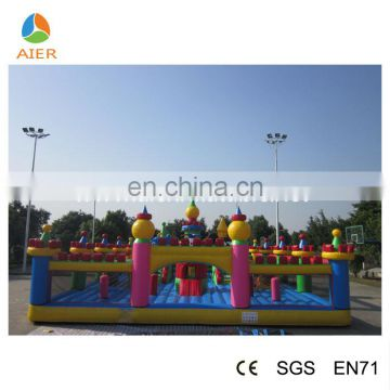 15m Giant Inflatable playground big kids inflatable fun city playground