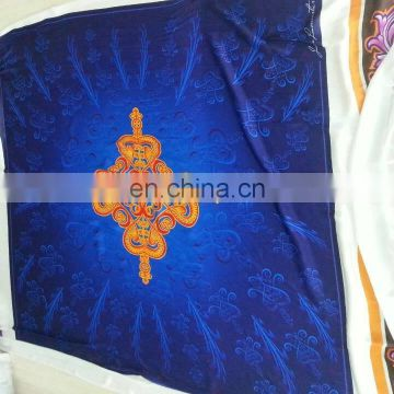 Factory Direct Luxury Custom Digital Printed plain white silk scarf
