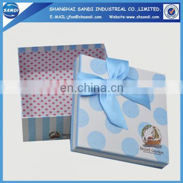 Full color printed custom paper gift box