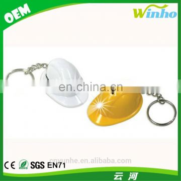 Winho Safty helmet keychain with led light