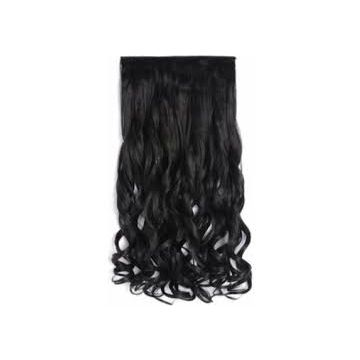 Grade 6A Double Layers Chocolate Synthetic Beauty And Personal Care Hair Extensions 12 -20 Inch