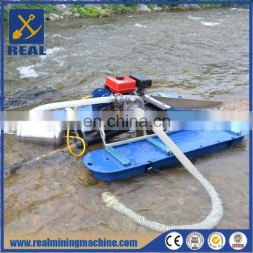 Mini gold mining dredger/boat with factory price