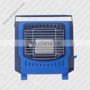 gas heater with fan