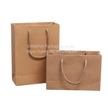 Brown kraft folding package paper burger box