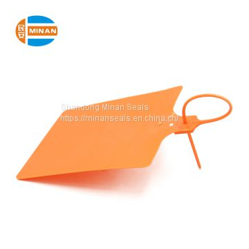 MA - PS 6018 wholesale adjustable indicative disposable Plastic Seal with logo