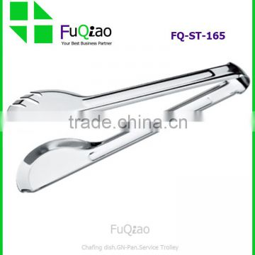 Kitchen Food Salad Stainless Steel Scallop Tong Serving Catering Clip BBQ Long Closure Clip                                                                         Quality Choice