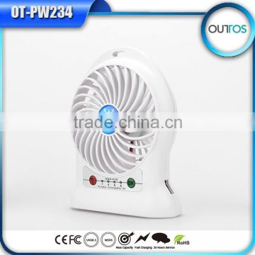 Wholesale Alibaba Usb Portable Rechargeable Mini Fan with Led Light                                                                         Quality Choice