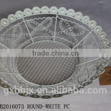 Metal wire fruit plate