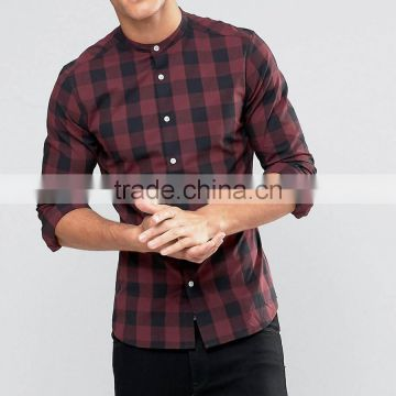 22980e48 Wholesale Stylish Comfort Slim Oem No Pocket Long Sleeve Cotton Men Fancy  Check Shirt of Shirt from China Suppliers - 145025450