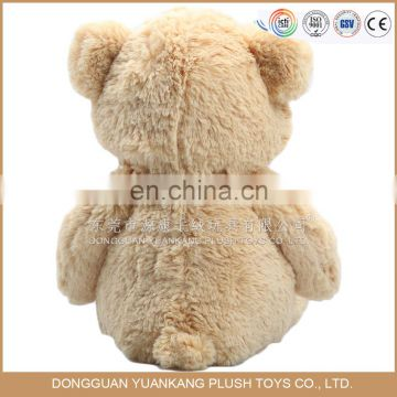 Customized soft teddy bears bride and groom for wedding gifts