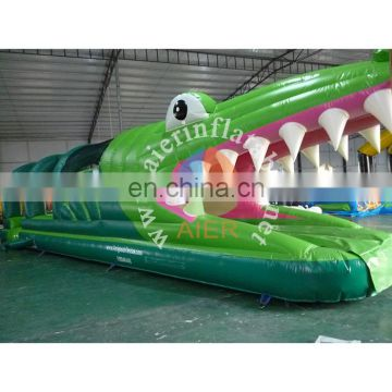crocodile inflatable water slide slide the city adults kids