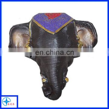 resin elephant head