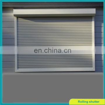 Aluminium roller shutters with thermal insulation