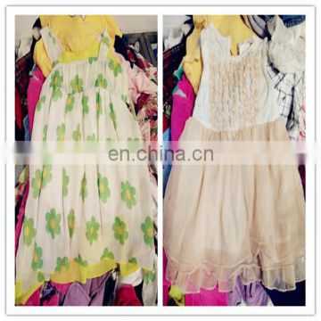 second hand cotton infant toddler girl dresses cute baby clothes