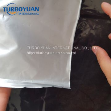 garden black silver plastic mulch film for agriculture