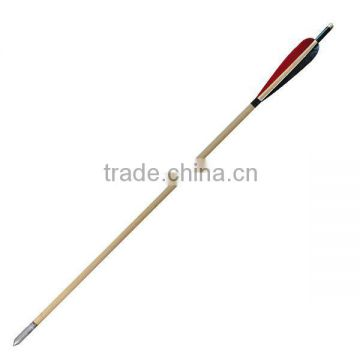 Hunting Wood Arrow Shafts,Professional Wood Arrow For Traditional Bow And Arrow