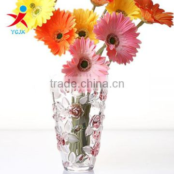 useful clear transparent large glass vase/ flower in different container/ home decorations