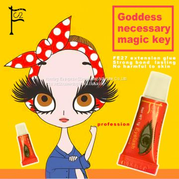 FC2 1g #18 black fast dry individual waterproof eyelash extension glue(Thin)
