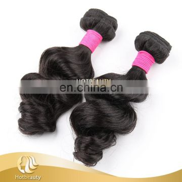 Direct Sale Full End Brazilian Hair Bundles , Chemical Free Hair Extension
