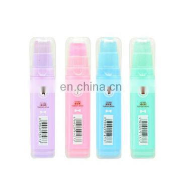 Square shape inside out eraser stackable eraser