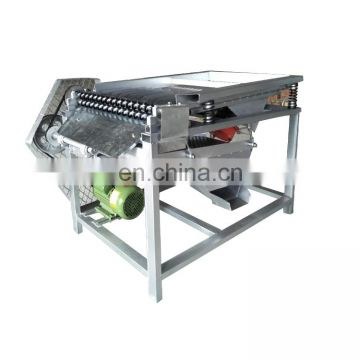 Boiled green soybeans sheller Edamame shelling machine