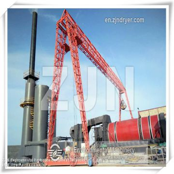 rotary dryer triple stage multi-loop drying for Textile Sludge Drying